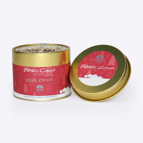 Potters Crouch FESTIVE Scented Candle Tins
