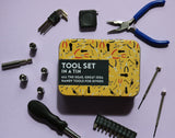 HANDY TOOL SET IN A TIN