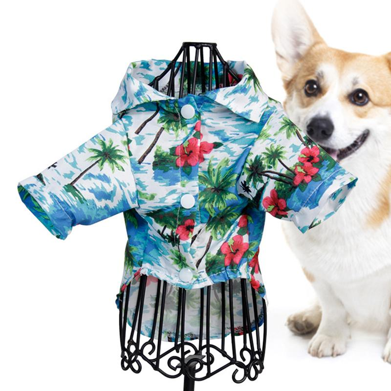 Hawaiian Style Pet Clothes