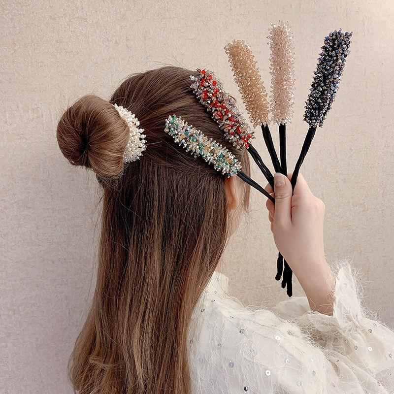 Hand Twist Hairpin Ponytail Hair Tool