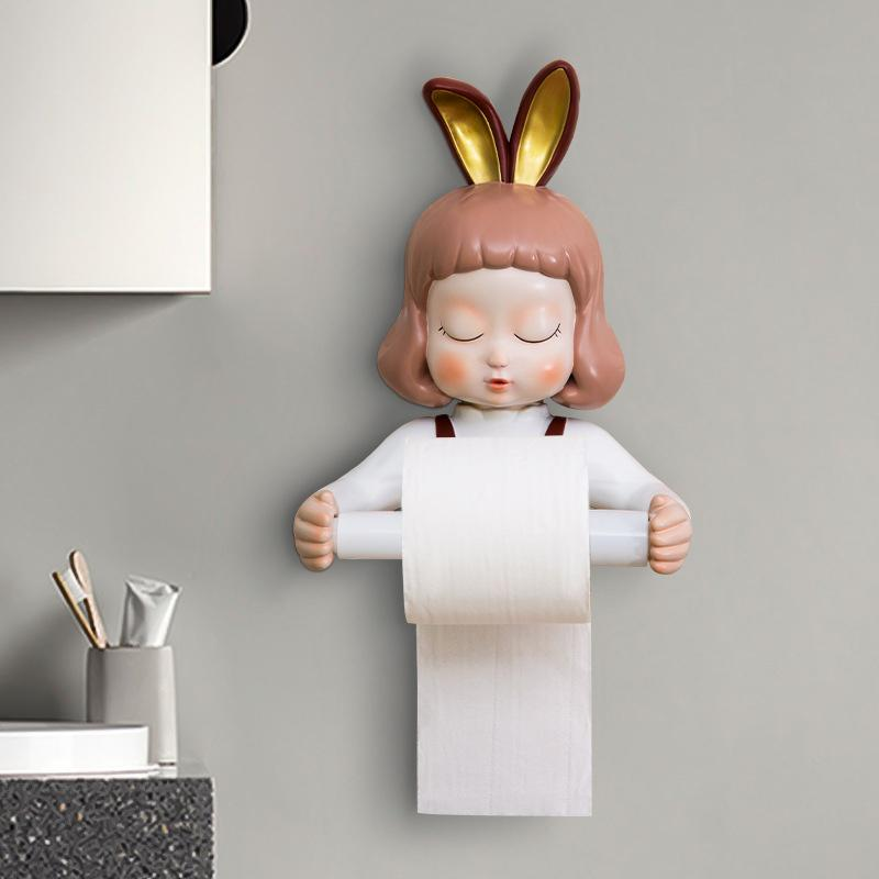 Wall-mounted Toilet Tissue Rack