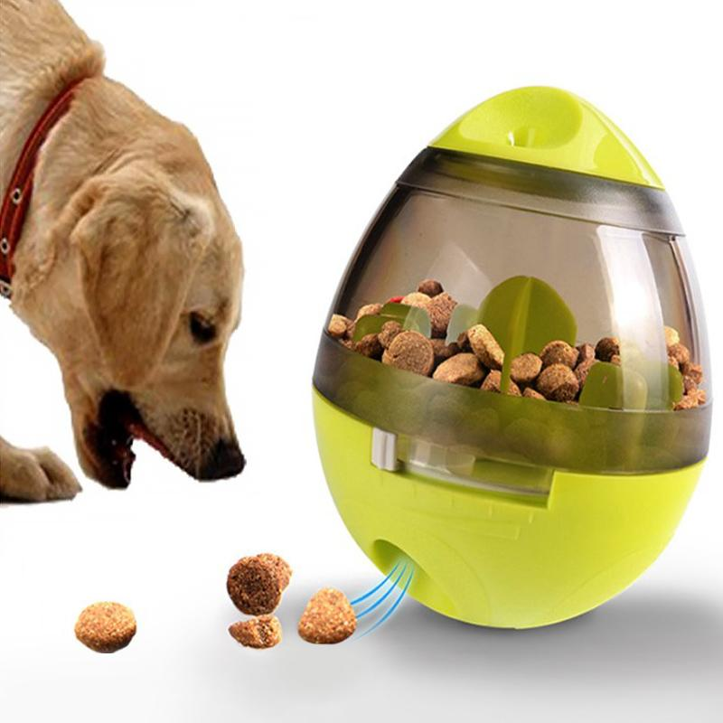 Dog Feeder Tumbler Toy