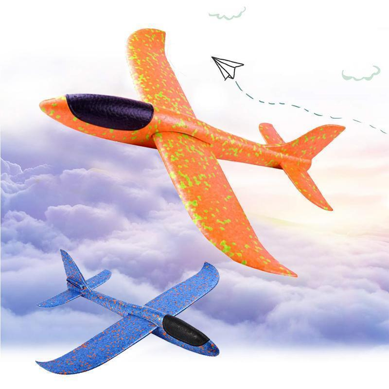 Foam Plastic Flying Glider Airplane(2PCS)