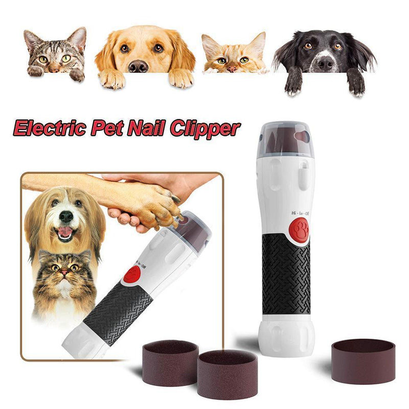 Hirundo LED Electric Pet Nail Clipper