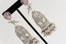 Load image into Gallery viewer, Bird Cage Earrings