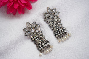 Silver Lookalike Earrings