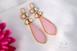 Kundan Classic Earring With Gold Plating