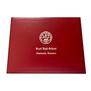 Scott High School Diploma Cover