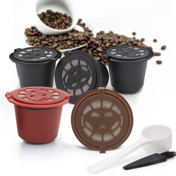 3Pcs Reusable and Refillable Coffee Capsule