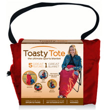 Load image into Gallery viewer, Toasty Tote - Red
