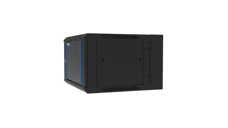 APSYS 18U WALL MOUNT CABINET 600*600, FRONT GLASS DOOR, DOUBLE SECTION