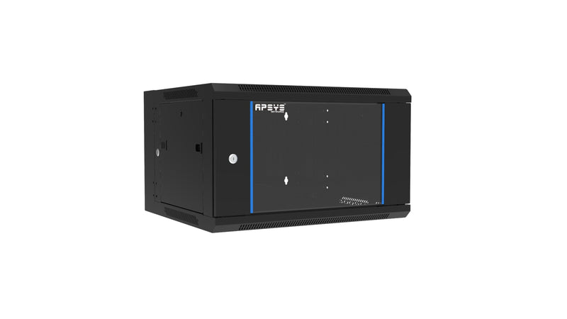 APSYS 15U WALL MOUNT CABINET 600*600, FRONT GLASS DOOR, DOUBLE SECTION