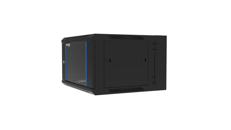 APSYS 6U WALL MOUNT CABINET 600*600,   FRONT GLASS DOOR, DOUBLE SECTION