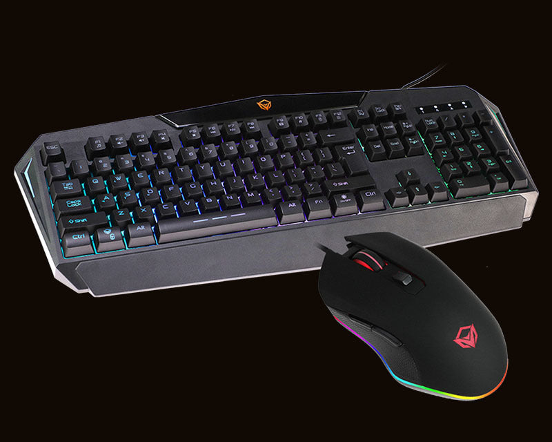 Rainbow Backlit Gaming Keyboard and Mouse C510