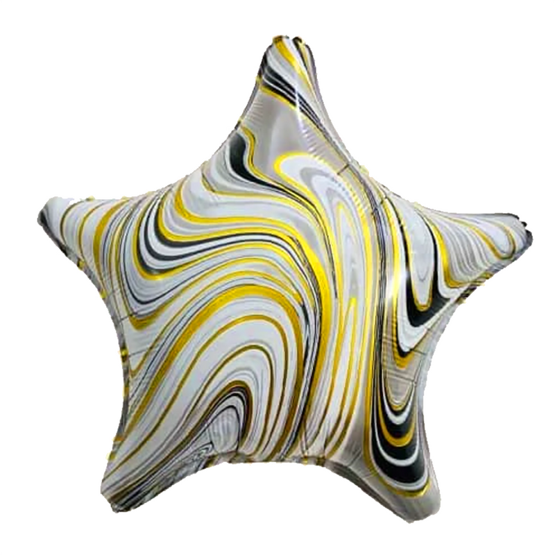 Marble Star Balloon