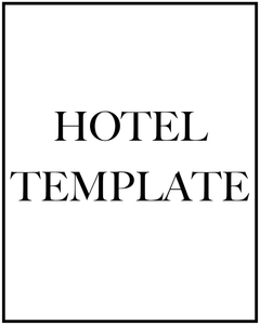 FREE HOTEL TEMPLATE