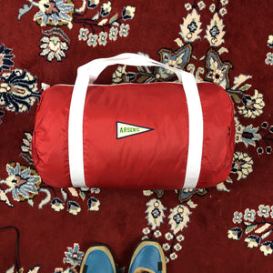 Nylon Duffel Bag (Cherry)