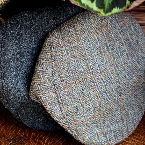 HARRIS TWEED - FLAT CAPS - 1