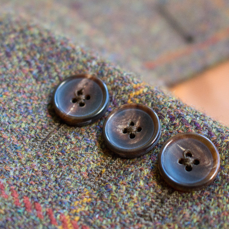 EXCLUSIVE MEN'S BRITISH HOUSE TWEED JACKET - BROWN