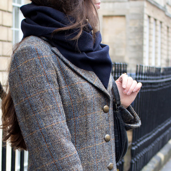 exclusive ladies harris tweed coat