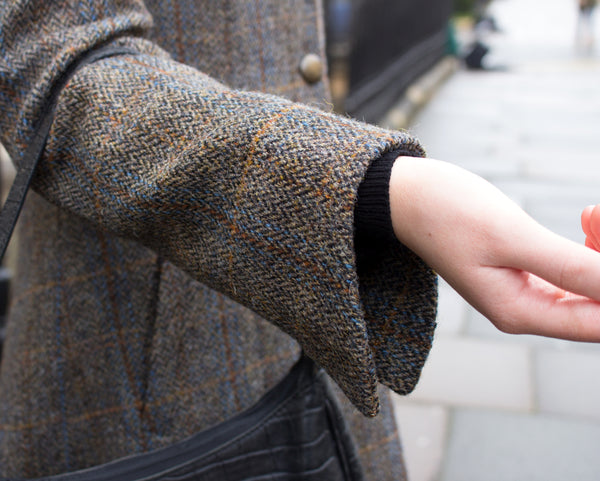 HARRIS TWEED LADIES COAT - THE CLANDAR CLASSIC