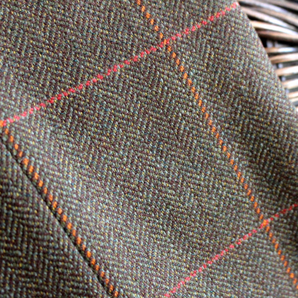 Thinner tweed brown trousers