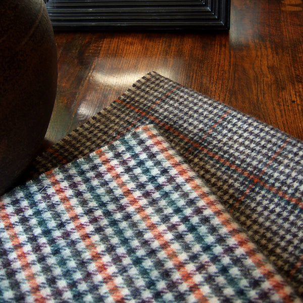 ENGLISH COUNTRY CLUB - LARGE CHECK SCARF - 2