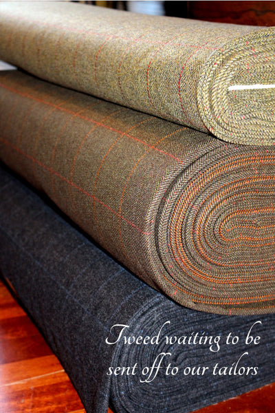 EXCLUSIVE MEN'S BRITISH TWEED TROUSERS