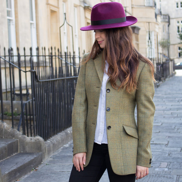 EXCLUSIVE - LADIES BRITISH TWEED JACKET - 1