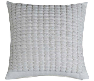 Decorative Throw Pillow Covers  Ivory