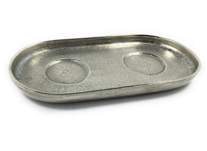 Decorative Silver Serving Tray