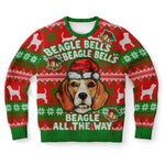 Beagle Claus Sweatshirt, Dog Lover, Gift for Pet Owner