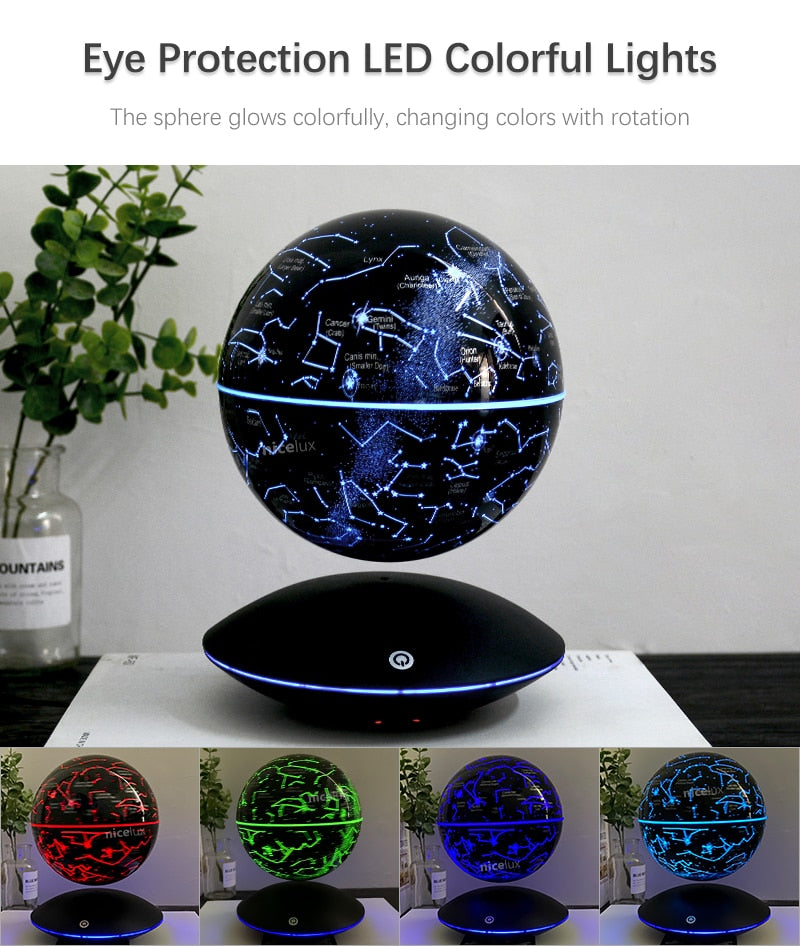 3D Magnetic Levitating Moon Lamp, Gift for Him, Gift for Her, Gift for Kids