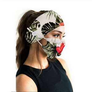 Printee Mask and Headband Set