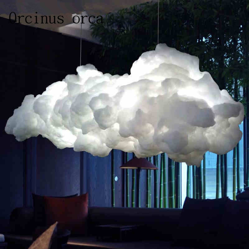 Cloud Chandelier Hanging Light, Gift for Restaurant, Gift For Bedroom and Living Room Decor