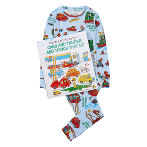 Cars and Trucks and Things that Go Pajamas and Storybook Set