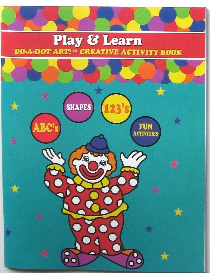 Play and Learn Creative Activity Book