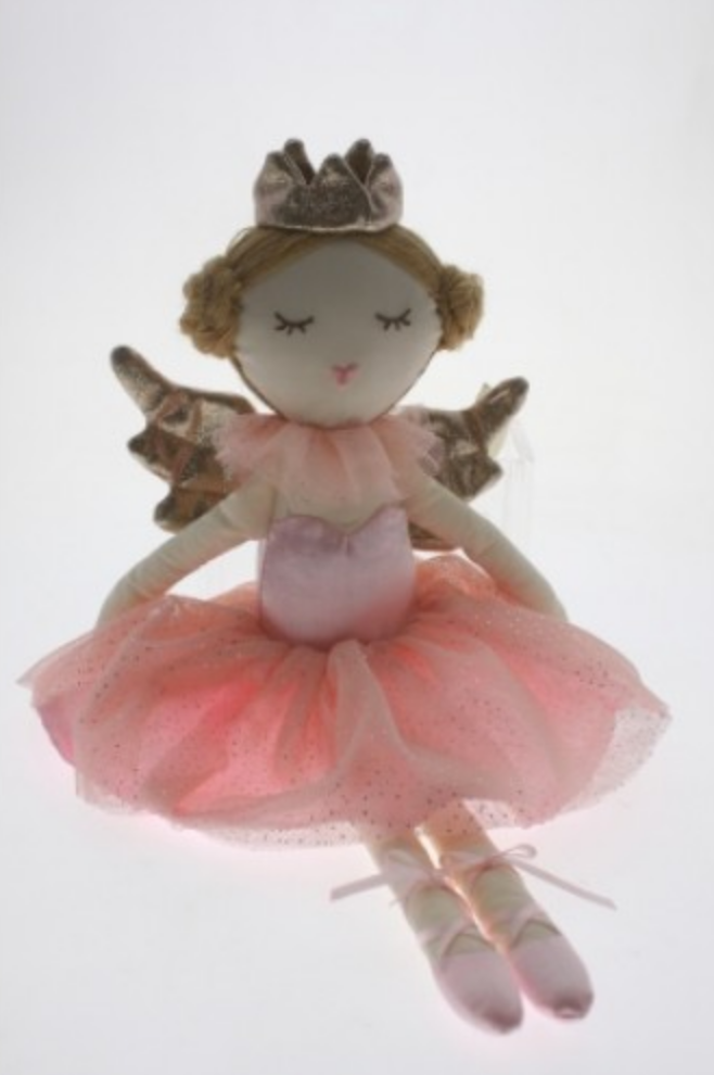 Cotton Candy Pink Fairy Doll