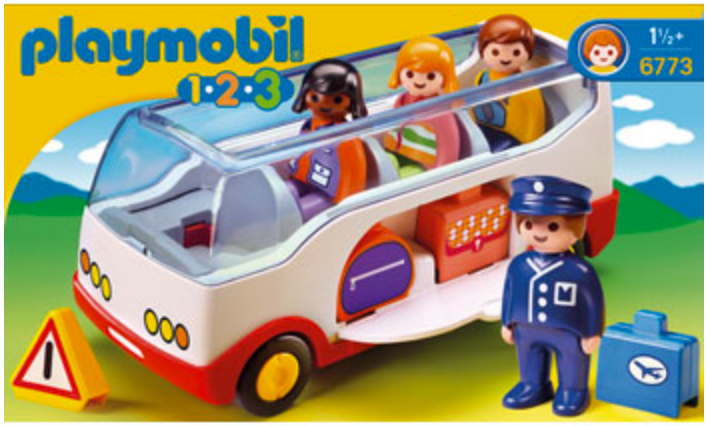 Playmobil 123 Shuttle Bus 6773