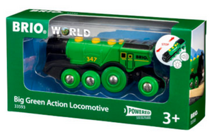 Brio Big Green Actio Locomotive 33593