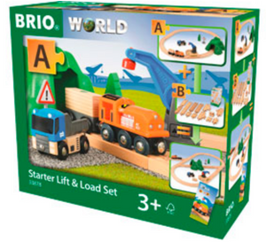 Brio Starter Lift & Load Set 33878