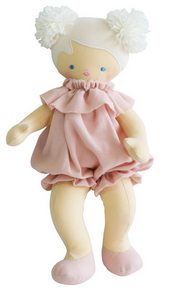Alimrose Baby Lucy Linen Pink