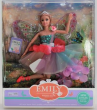 Load image into Gallery viewer, Emily Doll with Fairy Wings