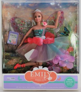Emily Doll with Fairy Wings