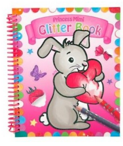 Princess Mimi Glitter Book