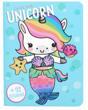 Load image into Gallery viewer, Create Your Unicorn/Panda/Bunny/Kitty Sticker Book