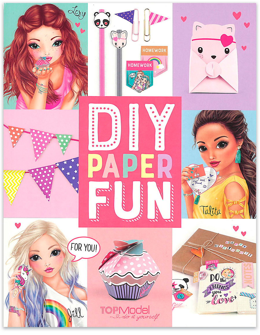 Top Model DIY Paper Fun