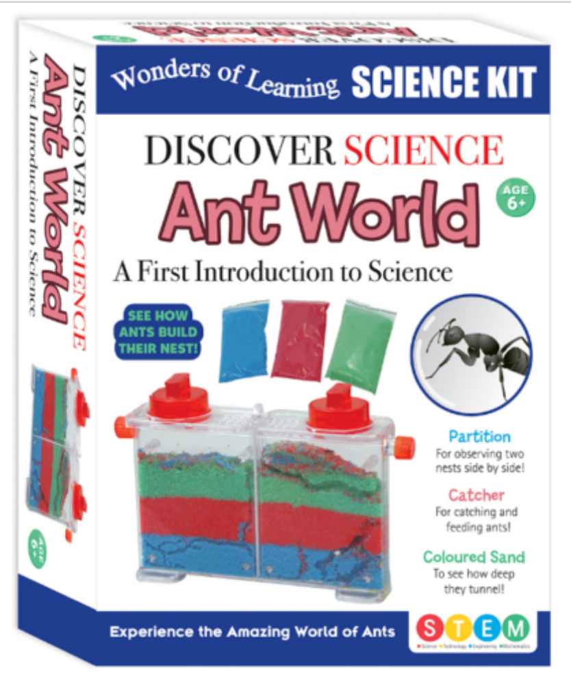 Discover Science Ant World