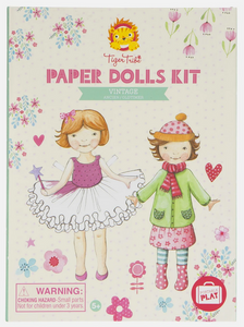 Tiger Tribe Paper Dolls Kit