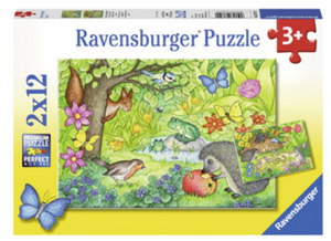 Ravensburger 2 X 12 Piece Animals in Our Garden